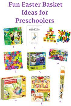 Fun Easter Basket Ideas for Preschoolers
