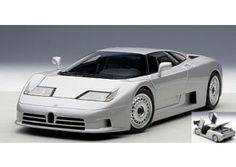 Bugatti EB110 GT 1995 Silver 1:18