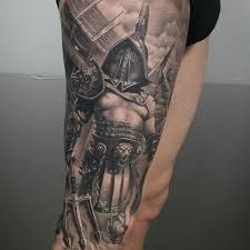 b33ce5fbd Gladiator Tattoo 54 Tattoo Futbol, Sparta Tattoo, Greek God Tattoo, Greek  Mythology Tattoos