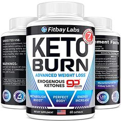 BHB Keto Pills - Exogenous Ketones Supplement - Keto Weight Loss Pills for Women & Men - Made in The USA - Go BHB Ket... Keto Supplements, Weight Loss Supplements, Fast Weight Loss, Weight Loss Program, Keto Pills, Keto Fast, Lose Weight Naturally, Boost Metabolism, Keto Diet For Beginners