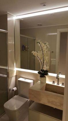 Home Room Design, Bathroom Remodel Shower, Bathroom Style, Restroom Decor, Bathroom Decor Luxury, Bathroom Design Inspiration, Bathroom Interior, Bathroom Design Small, Bathroom Design Options