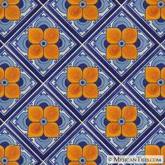 Mexican Tile - Flor Sevillana Mexican Tile