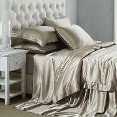 19MM Mulberry Silk Bed Linen | 6pc Silk Bed Linen Sets