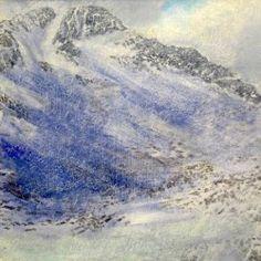 'Snow shower, below the east ridge of Ben Lui'