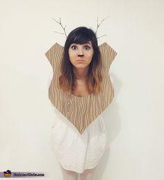 Taxidermy Deer - 2014 Halloween Costume Contest via @costume_works