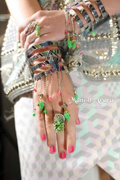 Manish Arora Spring Summer 2014