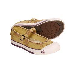 Keen Shoes For Women  | Keen Coronado Canvas Shoes - Mary Janes (For Women) in Ochre/Flower ...