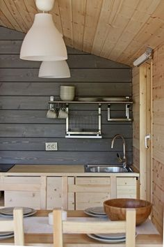 """""""DublDom"""": modular house by BIO Architects Prefab Cabins, Prefab Homes, Log Homes, Timber Cabin, Micro House, Cottage Interiors, Wooden House, Modular Homes, Home Design Plans"""