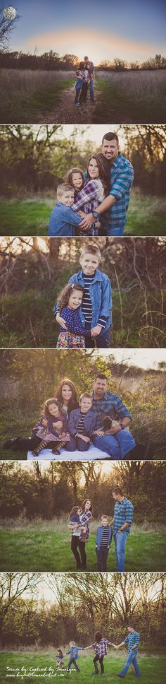 Texas Family of 4 Spring Pictures. What to wear for family pictures.
