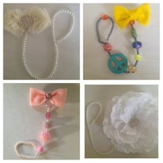 Pacifier holders