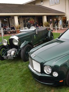 Bentley Mulsanne & 3 Litre Blower