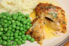 Stuffed With Creamy Garlic Butter, This Chicken Dish Is One You Won't Want To Miss!