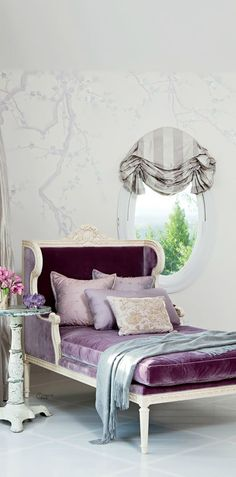 I love the oval mirror with shade! Designer Martyn Lawrence-Bullard