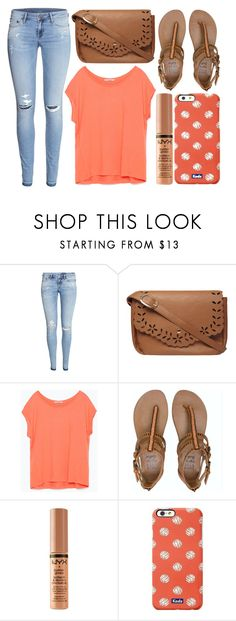 """street style"" by sisaez ❤ liked on Polyvore featuring H&M, Dorothy Perkins, Zara, Billabong, Keds, women's clothing, women, female, woman and misses"