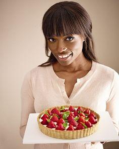 Лоррейн Паскаль в Клубничный торт с открытым | Самый большой в мире Утренний кофе | Поддержка Рака Macmillan