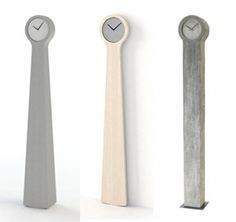 Modern Swedish designer's take on the Swedish Mora clock.  Beautiful 40th b-day present.    http://www.designerscall.com/blog/wp-content/uploads//2011/03/modern-mora-clocks.jpg