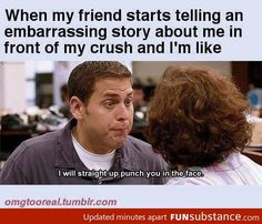 Gosh, I had a friend that did this all the time. -_-