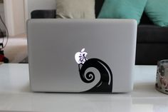 Jack Nightmare before Christmas Funny Decal Sticker For Apple MacBook