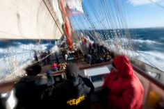 News about STS Sedov :: News :: The Sedov is approaching Cape Horn
