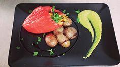 Pimentos recheados com bacalhau e legumes. #foodporn #chouriçariadapraça  Yummery - best recipes. Follow Us! #foodporn