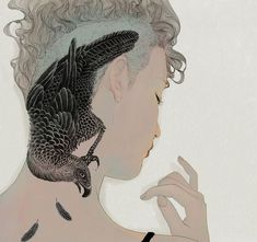 Dreamy Illustrations of Enigmatic Young People by Jo In Hyuk - My Modern Met