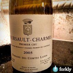 2005 Domaine Des Comtes Lafon Meursalt-Charmes Premier Cru