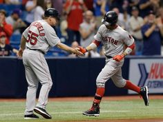 The Tampa Bay Rays late season spiral continues falling to the Boston Red Sox by a final score of on Saturday night. Tampa Bay Rays Baseball, Florida, Boston Red Sox, Mlb, Baseball Cards, Sports, Hs Sports, Excercise, Sport