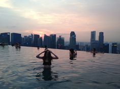 Miss that feeling #thetripneverends #infinitypool #singapore