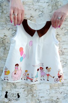 Children On Parade Dress Birthday Party Dress peter pan collar toddler birthday dress First Birthday Dresses, Peter Pan, Little Girl Dresses, Baby Dresses, Dress Girl, Toddler Dress, Toddler Girls, Baby Girls, Baby Sewing