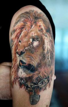 realistic tattoo art   Lion Tattoos that You can Wear with Pride « Tattoo Articles « Ratta ...