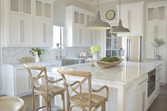 modern white kitchen zdesignathome