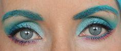 Le Monday Shadow Challenge me transforme en Fée Bleue (oui, mais bleu turquoise !)
