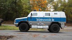 Lebensversicherung auf Rädern: RMMV Survivor-R - auf Nummer sicher