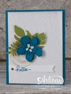 Botanical Gardens, Endless Birthday Wishes, Stampin Up, StampinByTheSea.com