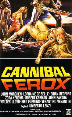 Cannibal Ferox (1981) [Italy]. Released with approximately 6 minutes of pre-cuts plus an additional 6 sec cut to a scene of animal cruelty in 2000.