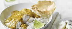 Indian Fish Curry with Lime and Coconut Bananas recipe, brought to you by MiNDFOOD.
