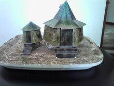 De cartolina: Casa de Hagrid