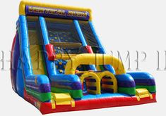 Inflatable Interactive Games: Uncompromising Quality With A Happy Jump Inflatable Slide