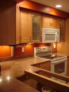Burnt Orange Kitchen Cabinets anyone have an orange or burnt orange dining room? | burnt orange