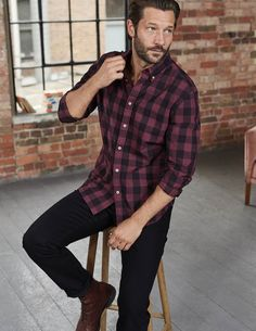 Slim Fit Garment Dye Shirt