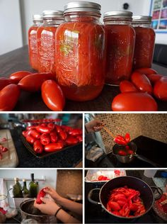 Canned Crushed Tomatoes | 26 Canning Ideas and Recipes