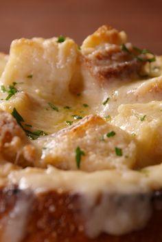 French Onion Bread Bowl  - Delish.com