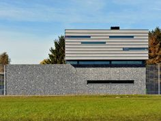 Fire station in Ulvenhout, NL. arch: Baudoin van Alphen. EQUITONE facade panels. equitone.com