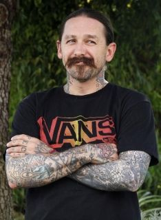 Oliver Peck. Tattoo Artist and judge on Ink Master...Love to get tatted by him too one day!
