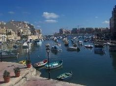 Saint Julian's on the island of Malta