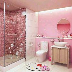 ❥Pink❥ Bathroom Hello Kitty #hellokitty