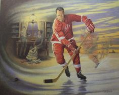 World's most complete Limited Edition Print and Giclee Canvas Art Collection Job 1, Poster Prints, Art Prints, Posters, Canadian Art, National Hockey League, Detroit Red Wings, Limited Edition Prints, Canvas Art