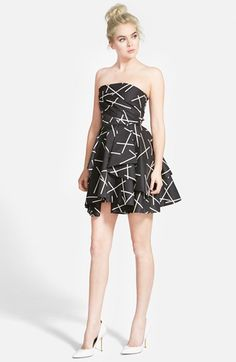 CAMEO 'Shaken Up' Fit & Flare Dress available at #Nordstrom