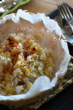 Jane's Corner: Cheesy Chicken Rice with Bake Spice Chicken