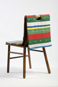 Patél chair. design by. Daniel Valero & Alexis del Toro handwoven by. Rubén Tamayo  www.mestiz.mx
